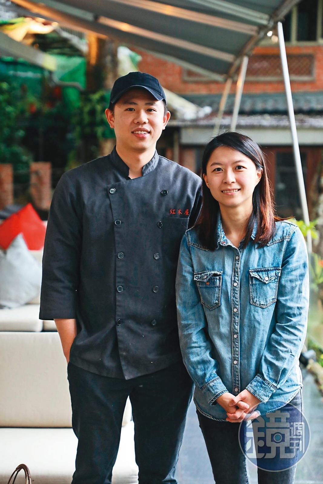 張雅婷(右)及張博竣(左)自小生長在貓空,擁有新生代的思維。