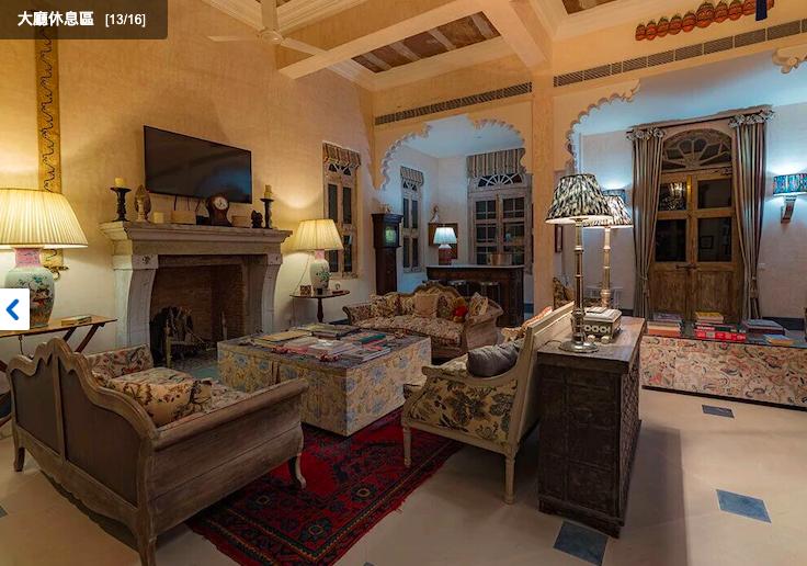 印度「烏代布爾 Bujera Fort酒店」是個純樸的所在,目前找不太到遊記,就等著你來挖掘。(翻攝自Hotels.com)