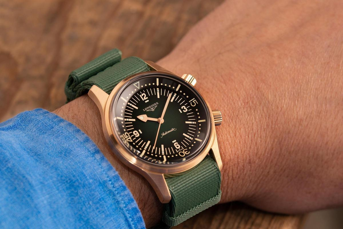 Legend Diver復刻潛水錶青銅款,建議售價NT$96,800。