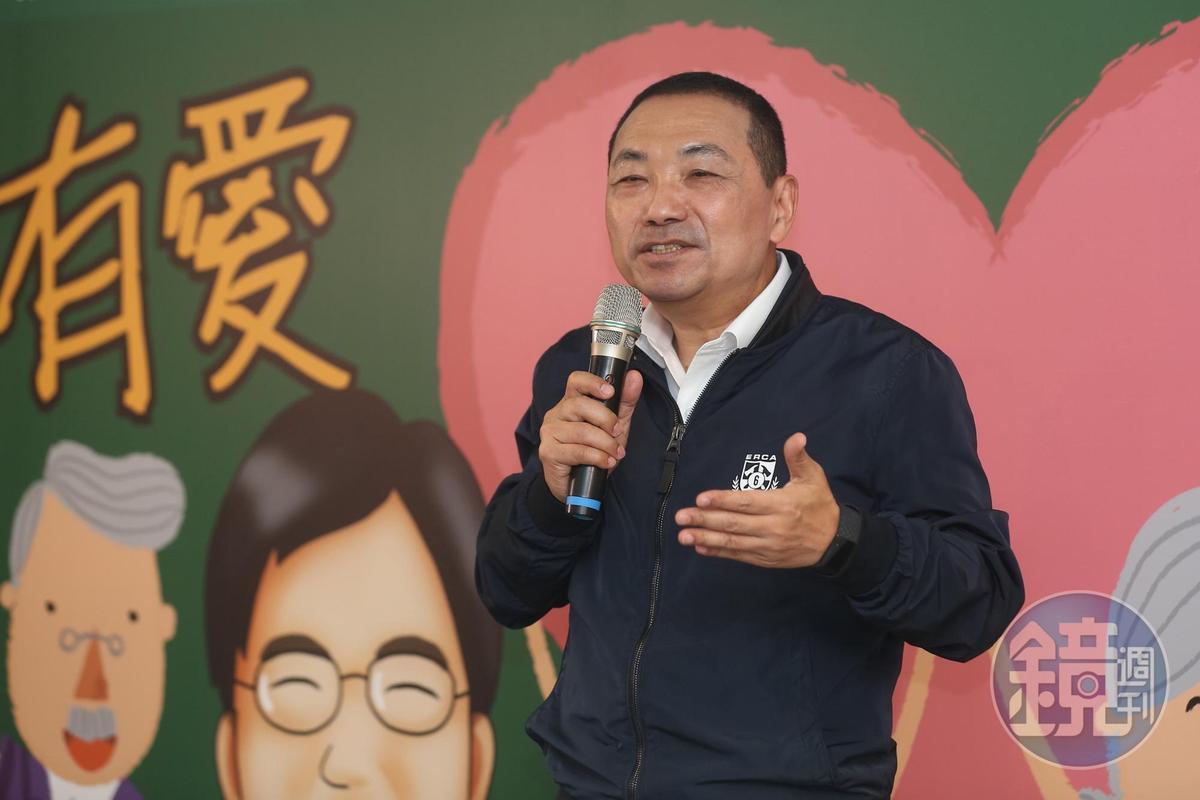 新北市長侯友宜表示,不管哪個行業,有涉及豬肉都應該要標示清楚是否含萊劑。(資料照)