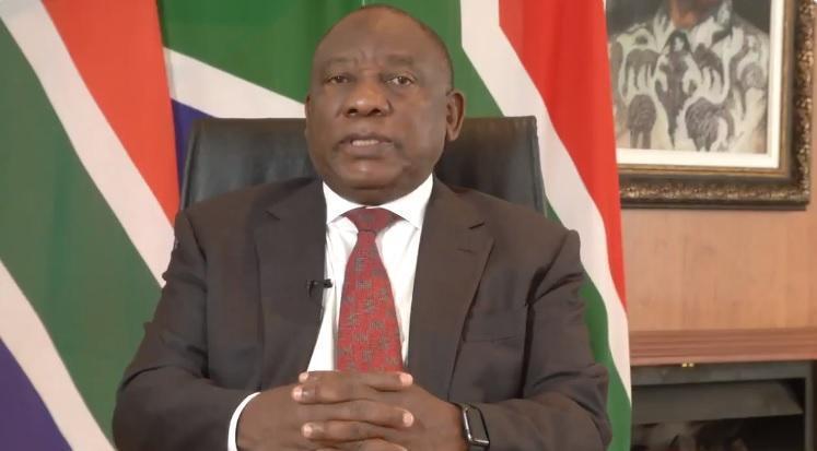 南非總統西里爾拉瑪佛沙被指是獵物繁殖計畫組織的成員。(翻攝Cyril Ramaphosa推特)