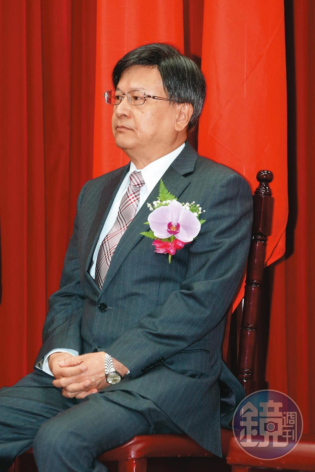前公懲會委員長石木欽(圖)與富商翁茂鍾不當往來,遭彈劾後面臨吐回退休金。