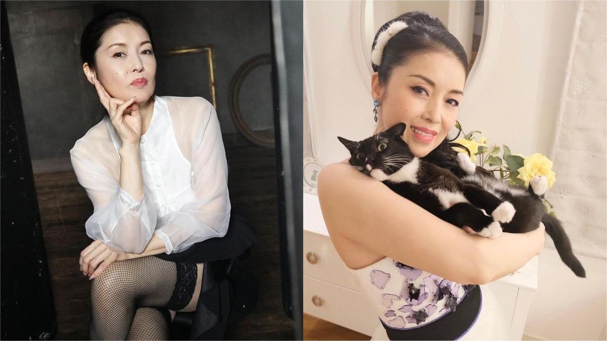 藤彩子是日本演歌界長青樹,亦常在個人社群網站上曬貓。(翻攝自藤彩子IG)