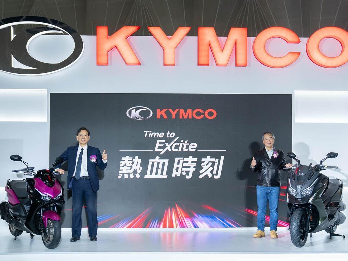二輪展上,光陽展出多款新車,並宣佈DT X360(右車)的售價為19.8萬元。