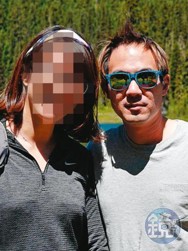 蘋果工程師G小姐(左)和陳翰洋(右)交往4年,去年底才發現被騙。(讀者提供)