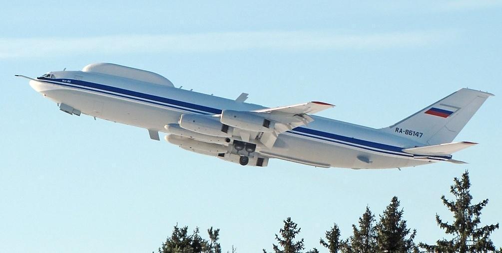 去年年底俄國也傳出有「末日飛機」之稱的「核戰總統指揮專機」,機上機密設備遭竊的事件。(翻攝自製造商伊留申集團網站)