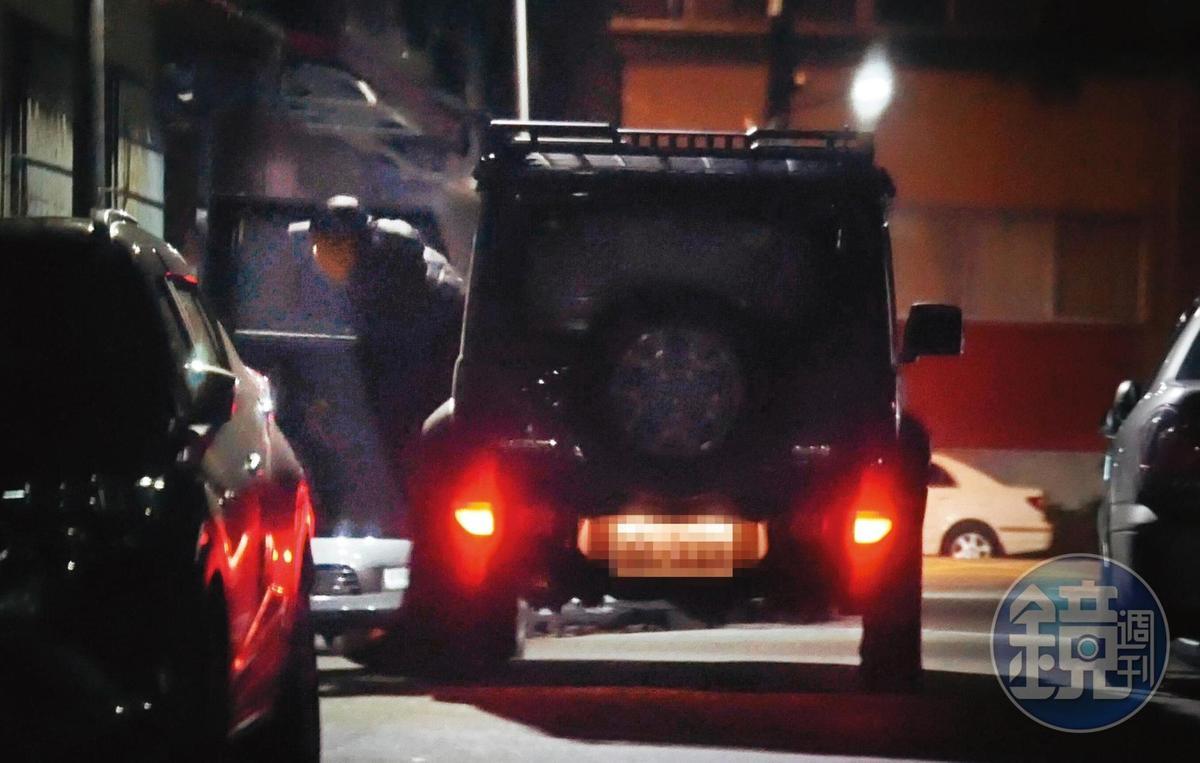 1月9日02:48,新歡住在北投附近,愛紗則住南港,由此可見兩人把握車內約會的緊密程度。