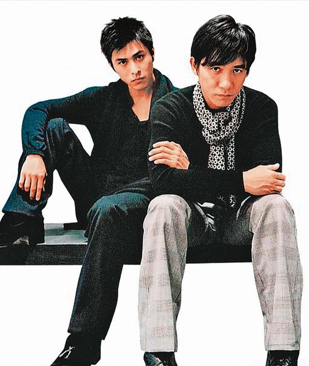 范植偉(左)曾有梁朝偉(右)接班人稱號。(翻攝自洹國際文化官網)
