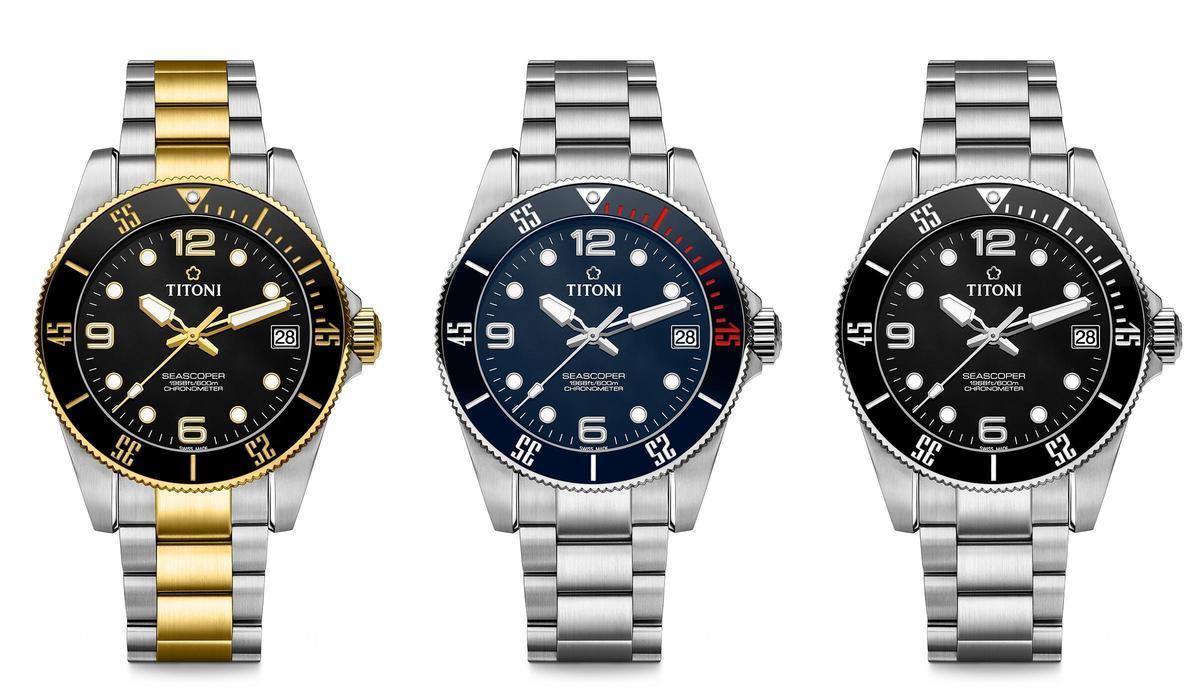 梅花錶Seascoper 600系列,建議售價NT$59,800~62,300。