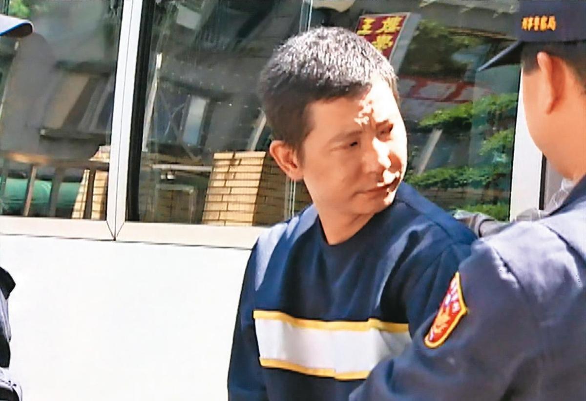共犯戴志明案發後潛逃中國大陸,半年後被公安逮捕,遣送回台受審。(東森新聞提供)