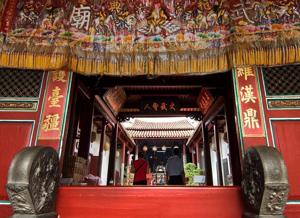 台南的祀典武廟不只可以拜月老,還可以求祈考運順遂。(翻攝自交通部觀光局網站)