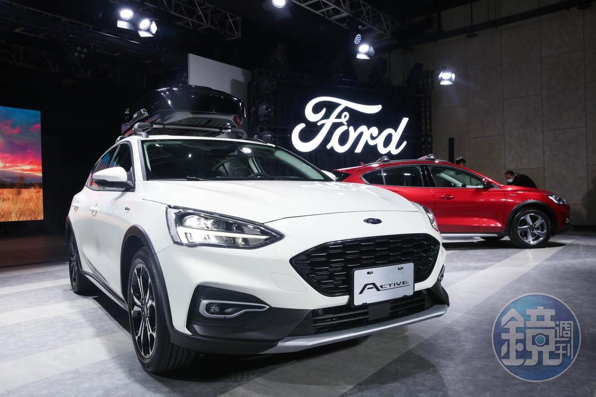 福特才剛發表Focus Active,就銷售建功,帶動福特拿下品牌銷售第2。