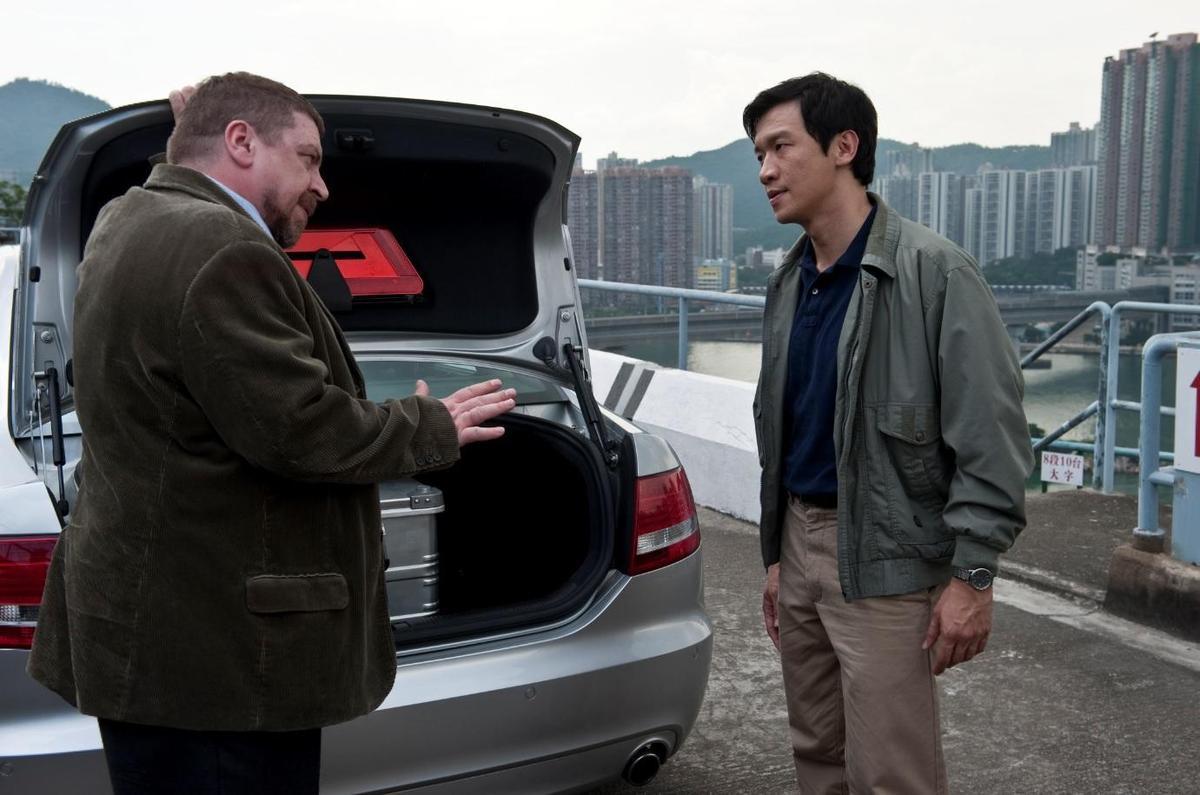 電影《全境擴散》中 「假疫苗裝生理食鹽水」的情節,竟在中國大陸真實上演。(翻攝自IMDB)