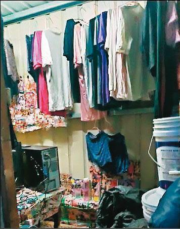 儘管貨櫃屋內部狹小、悶熱,不宜人居,住民仍竭力在有限空間中,打造出「家」的樣貌。(南港區公所提供)