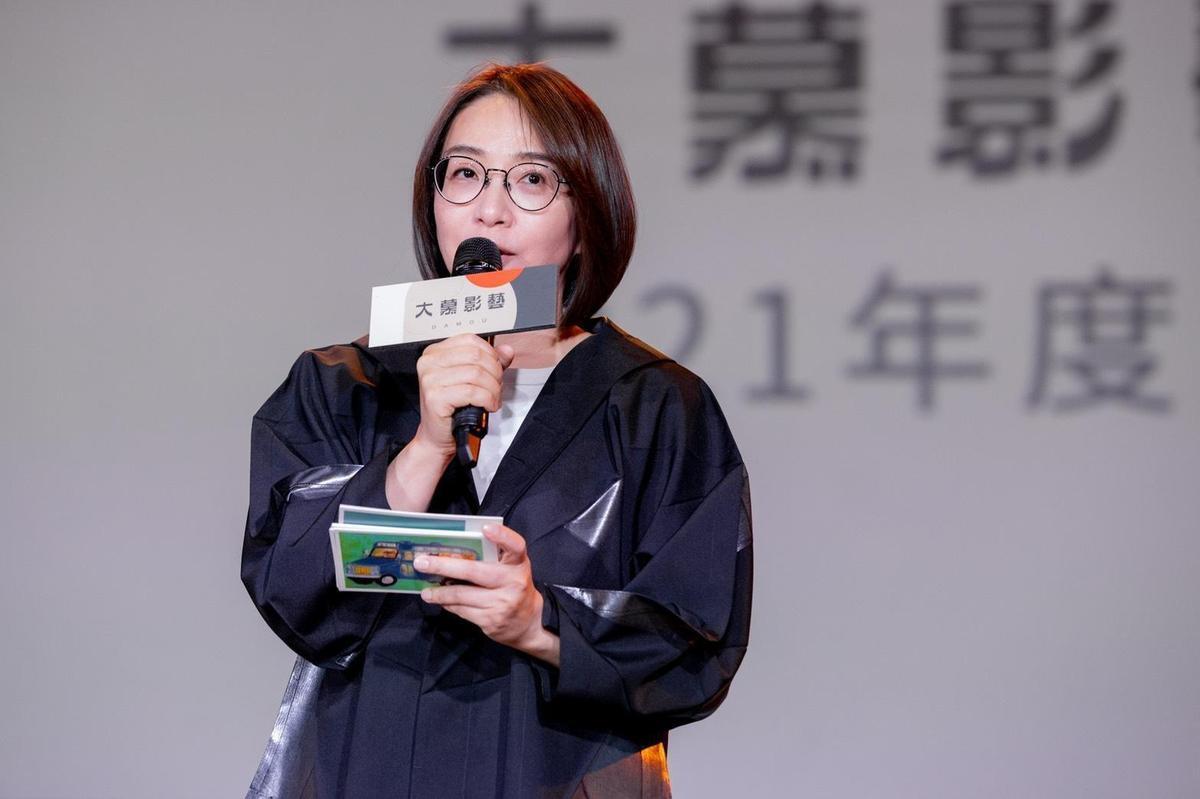 大慕影藝執行長林昱伶今宣布今年4部作品開拍計劃。(大慕影藝提供)