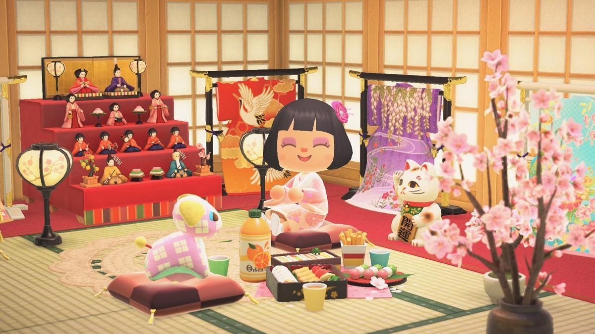 本次更新還會遇上日本的女兒節,因此還有相關季節商品可以選購。(翻攝自任天堂官網)