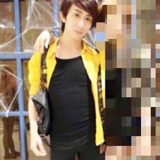 「罔腰」高中時模樣清秀,2017年遠赴泰國做變性手術,並在當年10月成功換成女性身分證,懷孕生子一直是她的夢想。(翻攝自PTT)