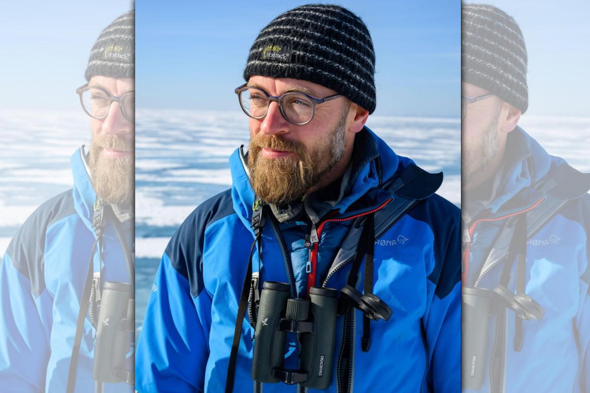 野生動物攝影師亞當來自比利時。(翻攝Yves Adams IG)