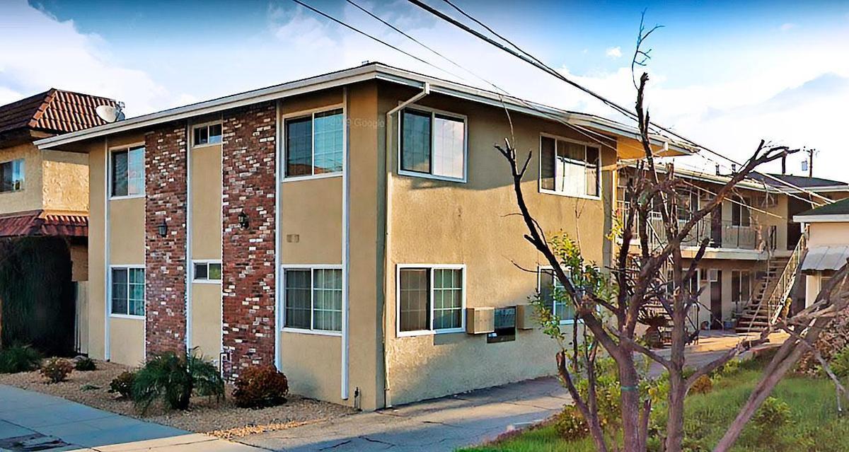 趙駿亞19年前對女友施暴的案發公寓,位於加州洛杉磯聖蓋博市史蒂文斯路上。(翻攝Google Map)