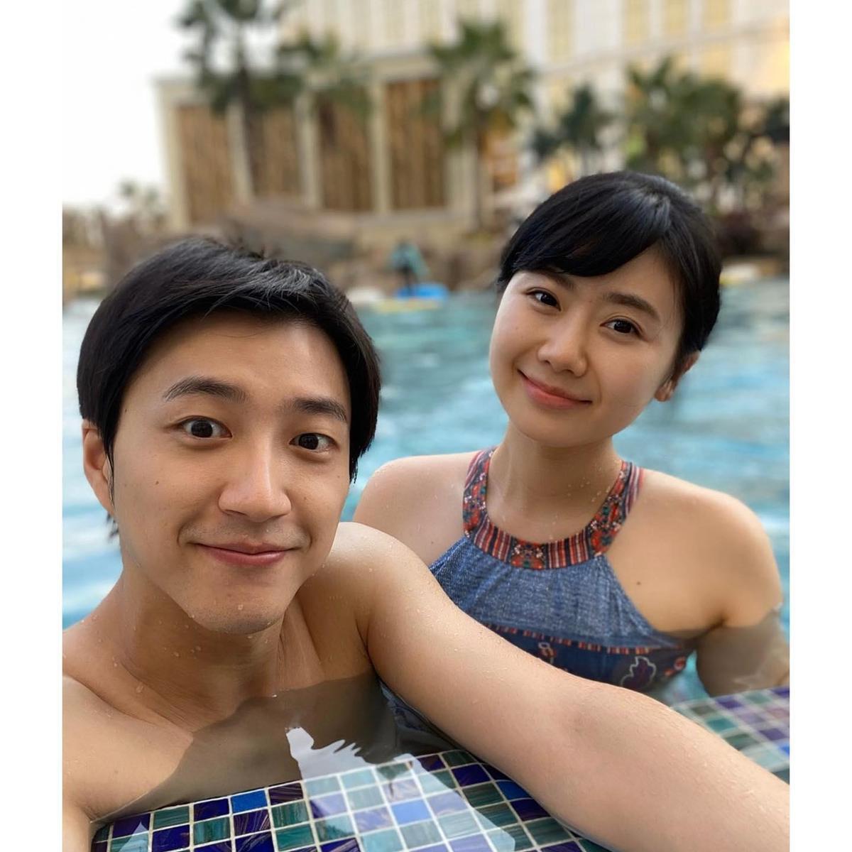 江宏傑福原愛去年之前還常在社交平台上曬恩愛。(翻攝福原愛臉書)