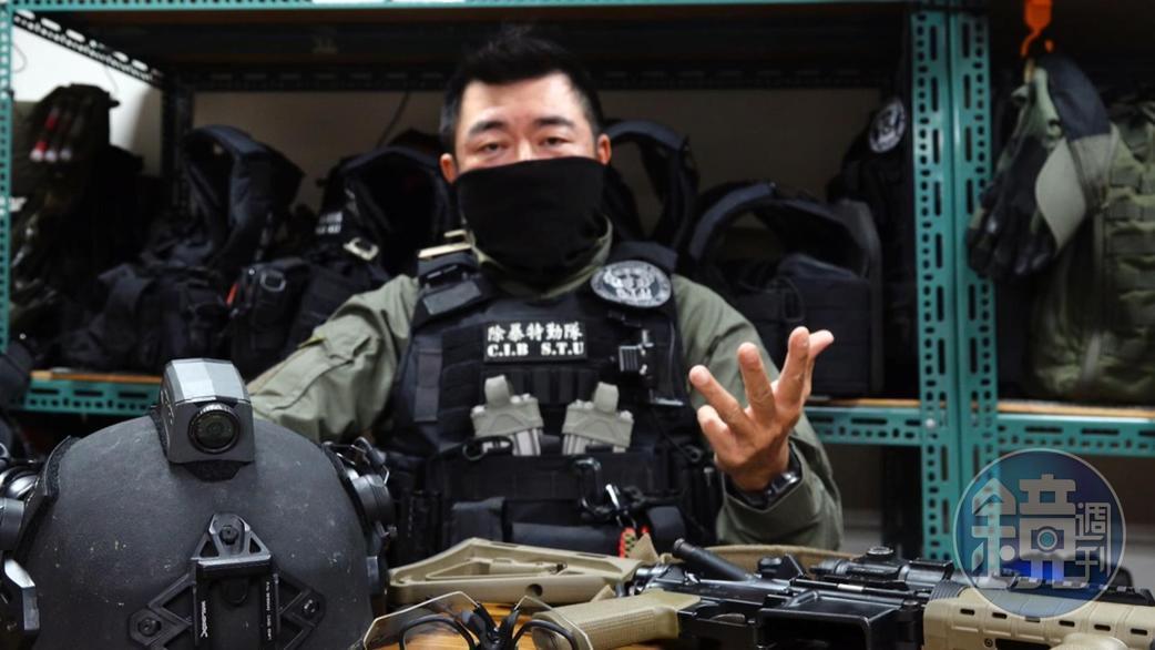 童明輝認為特勤隊員要有很強心理素質。