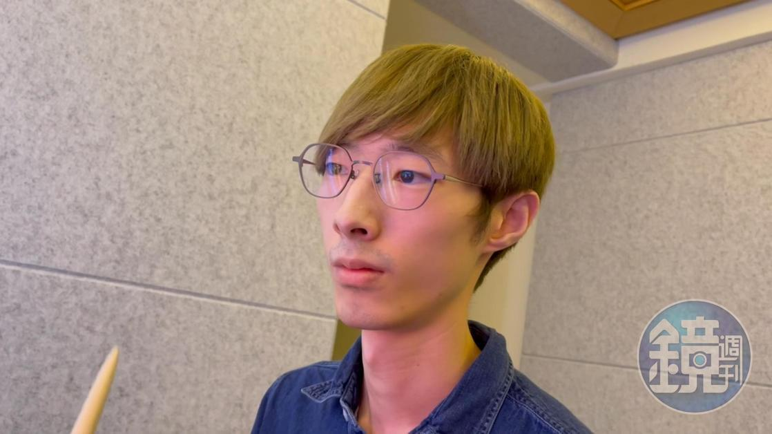張啟元目前在一家新創公司擔任資安研究員,做一個合法的白帽駭客。