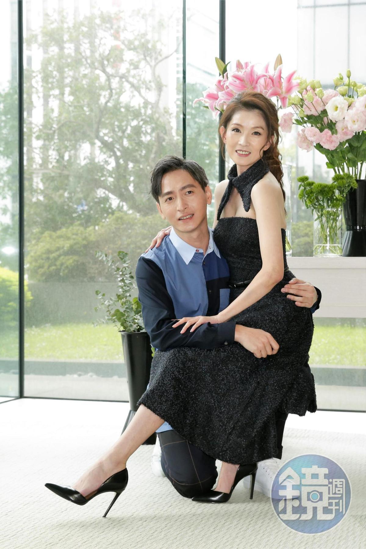 葉全真切了15年的事業夥伴陳昭榮,首接偶像劇與許懷民湊一對。