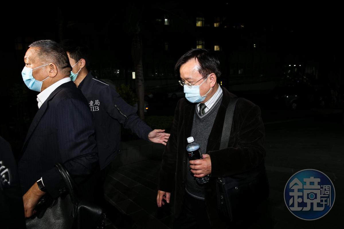 檢方複訊後將大洋僑果財務主管林德盛以120萬元交保。