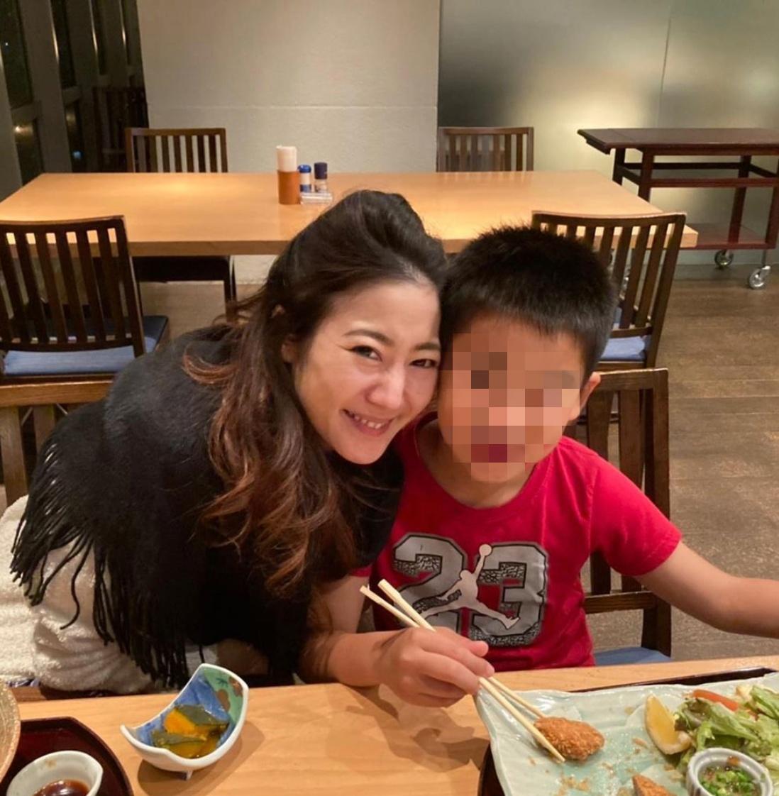 高木惠美生前不時在社群分享與兒子的日常。(翻攝自高木惠美IG)