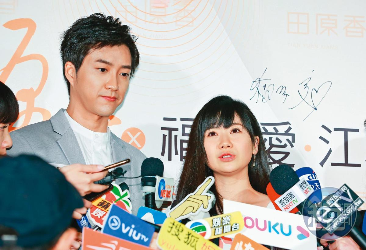 江宏傑(左)當初曾點出福原愛(右)的「兩面性」,這次他「被離婚」其實一開始有些措手不及,感覺得出用情依然至深。