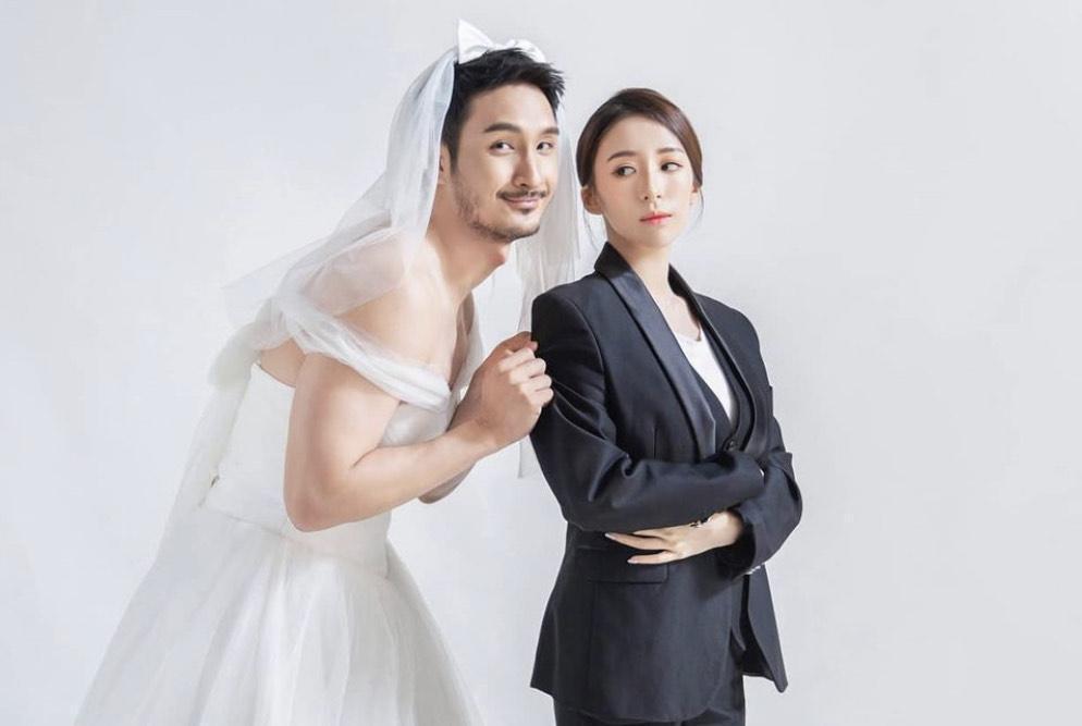 呂銳與許維恩分手後,回到馬來西亞結識了現任妻子,兩人於去年底宣布結婚懷孕的好消息。(翻攝自呂銳IG)