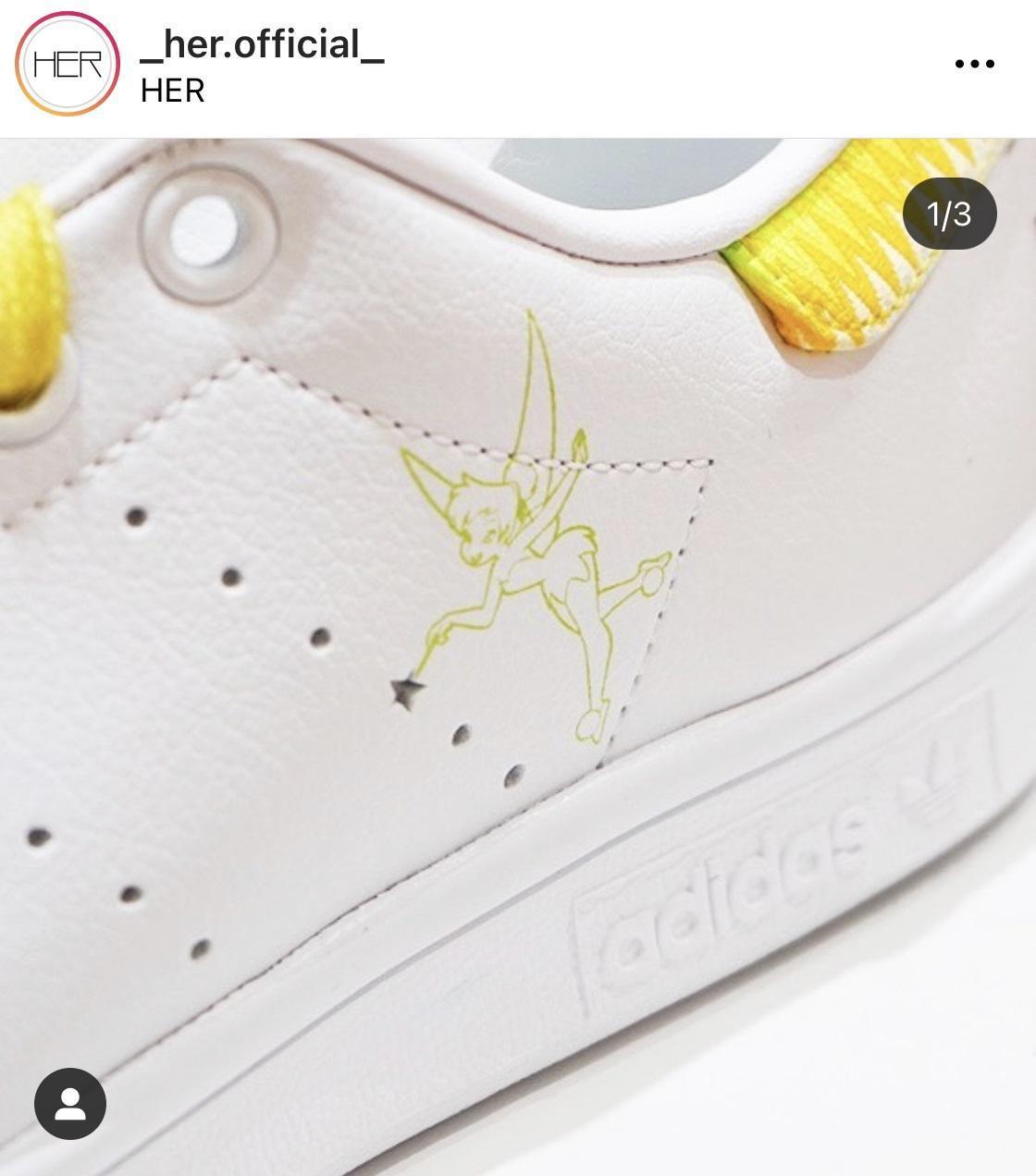 徐濠縈經營之服裝店,正悄悄賣起adidas與迪士尼聯名的款式。(翻攝自徐濠縈IG)