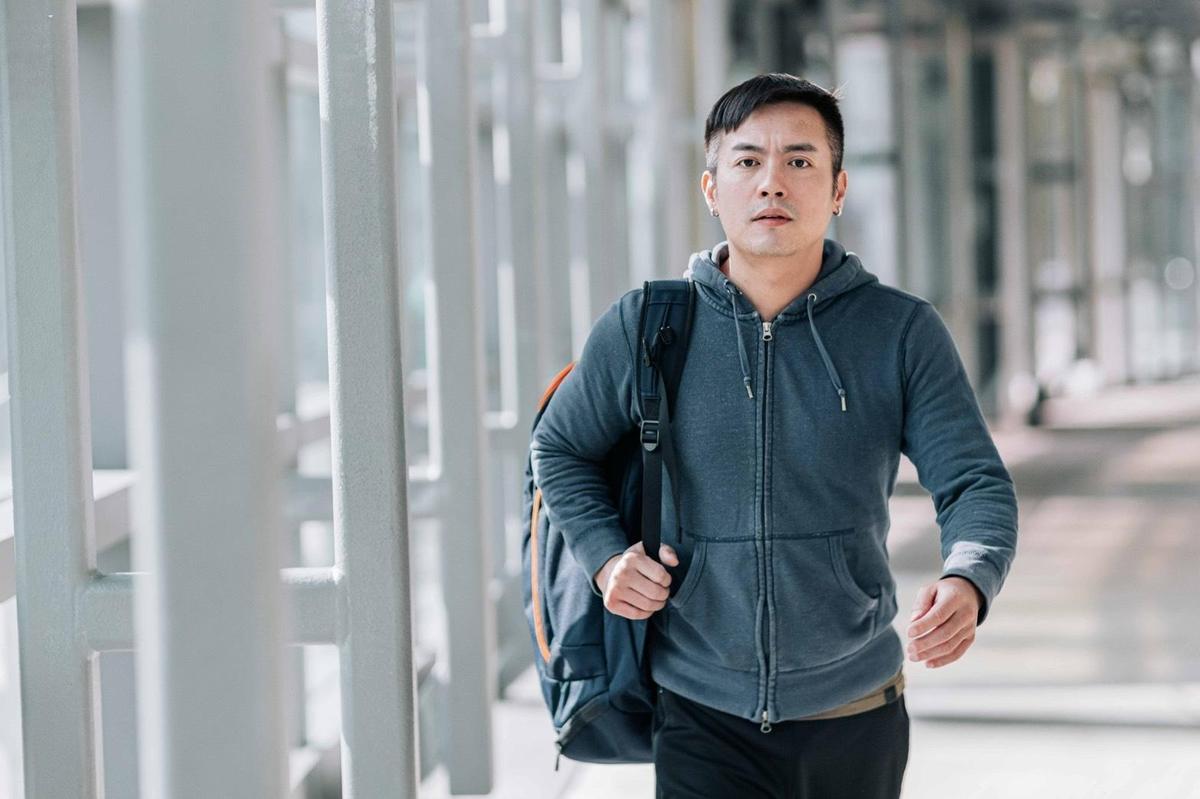 醫生建議范逸臣短期內別再做激烈運動。(三立提供)