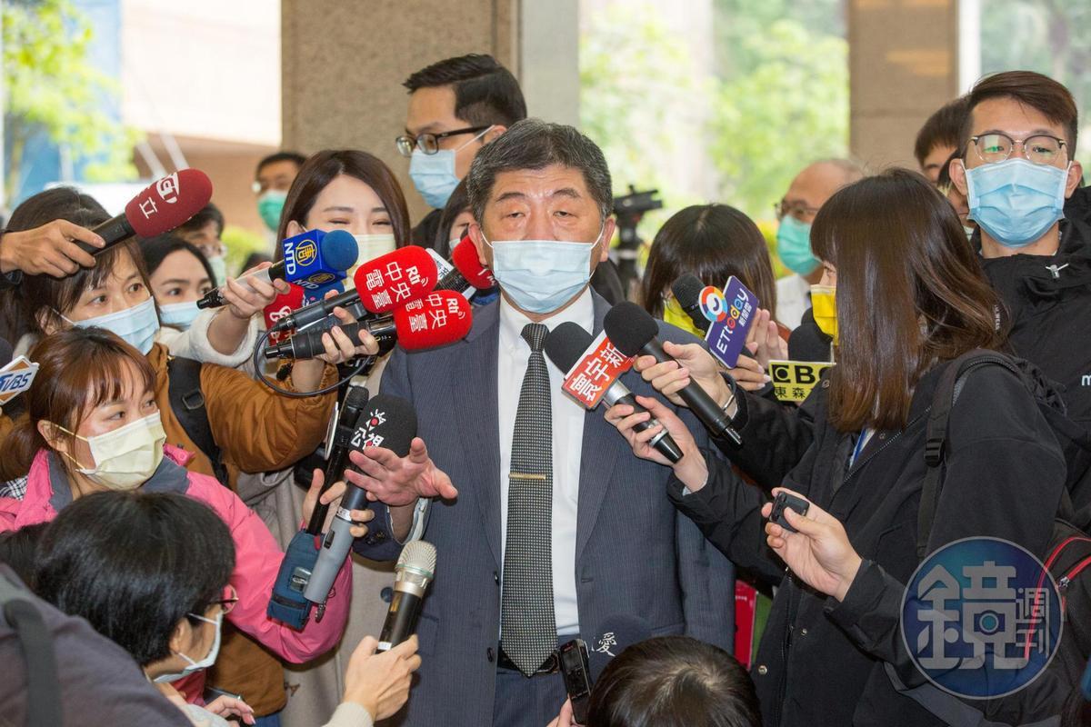 陳時中今回應陳佩琪指自己漲健保卻不用下台是因為媒體護航,表示是認知不同。(本刊資料照)