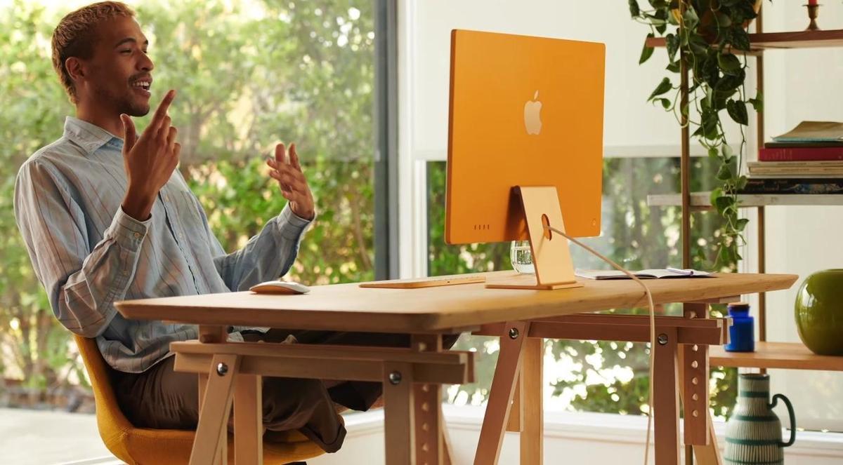 蘋果iMac迎來大改版。(翻攝自蘋果官網)