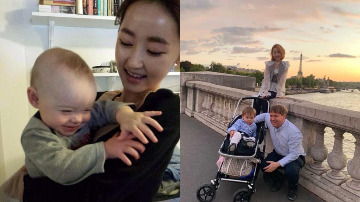 3年前朴延美與老公結婚,隔年生下一名兒子。(翻攝自Yeonmi Park 臉書)