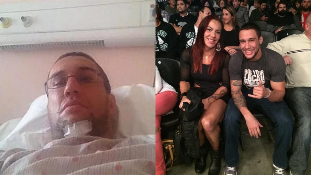 艾爾比表示身體康復後,和女友的感情變得更緊密。(翻攝自TYT Sports YouTube、推特)