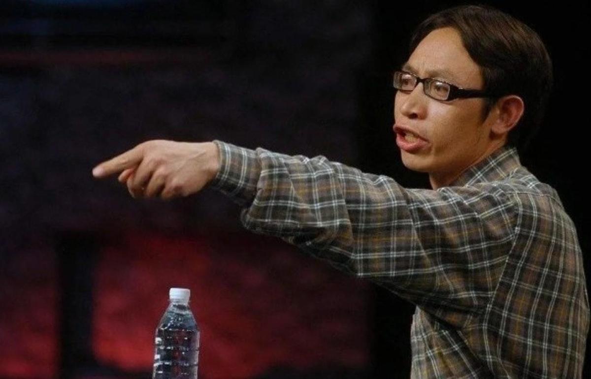 范美忠曾在2008年6月上節目為自己辯護。(翻攝自騰訊新聞)