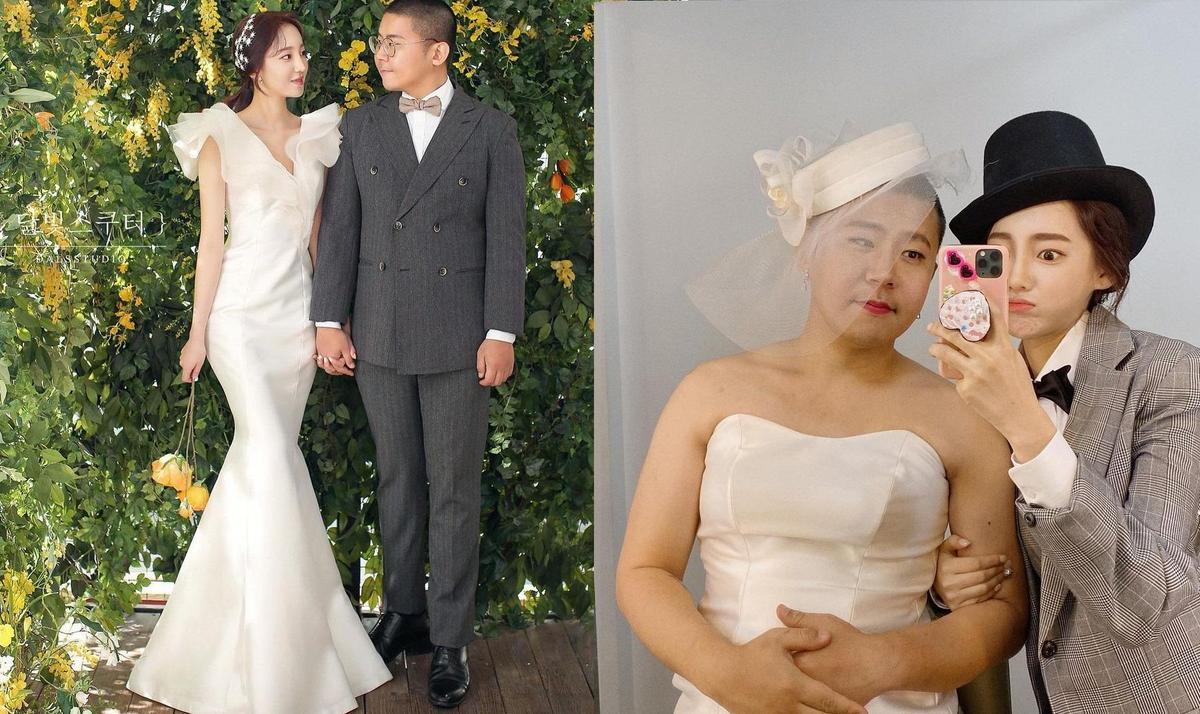 OzilHye和鐵球各有擁護者,婚變消息讓人霧裡看花。(翻攝自OzilHye IG)