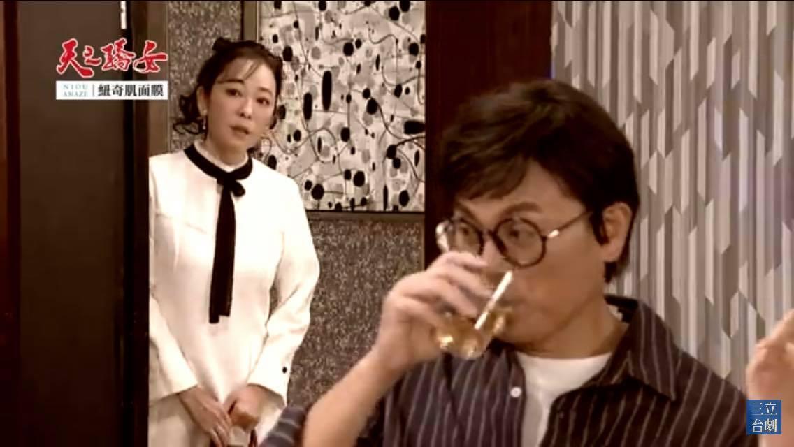 近日況明潔在《天之嬌女》中演回憶戲,PO出扮演30年前「明鳳」的劇照。(翻攝自況明潔臉書)
