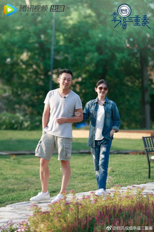 汪小菲在節目中展現對大S的寵愛,網驚嘆:「汪小菲是求生欲太強的直男。」「大S快把汪小菲給逼S了!」(翻攝自騰訊視頻微博)