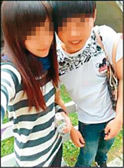 死者鄭女與江男在臉書上PO親暱合照,還會公然互稱寶貝放閃。(翻攝畫面)