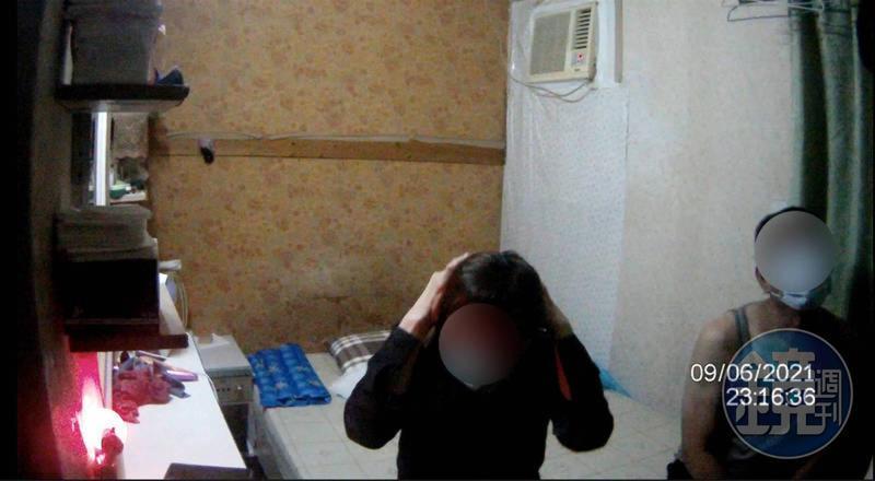陳男表示,他也怕中標,所以性交易全程戴口罩。(讀者提供)