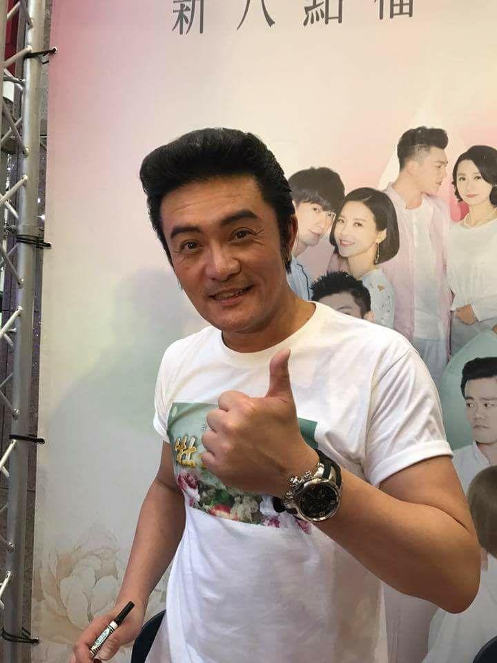 李㼈前年上節目時證實自己年輕時的確拍過A片。(翻攝自李㼈臉書)