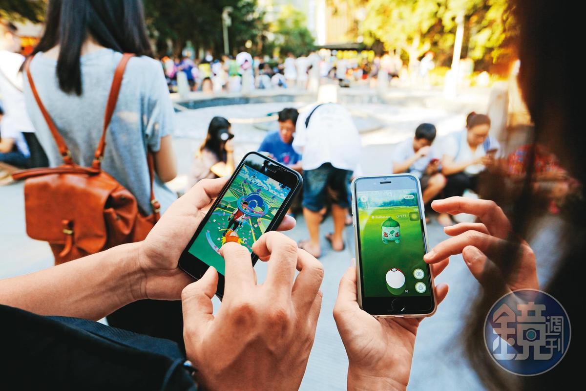 掀起全民抓寶旋風的手遊《Pokemon GO》,帶來第一波AR爆發潮,故民眾對AR的認識,多半與遊戲相關。