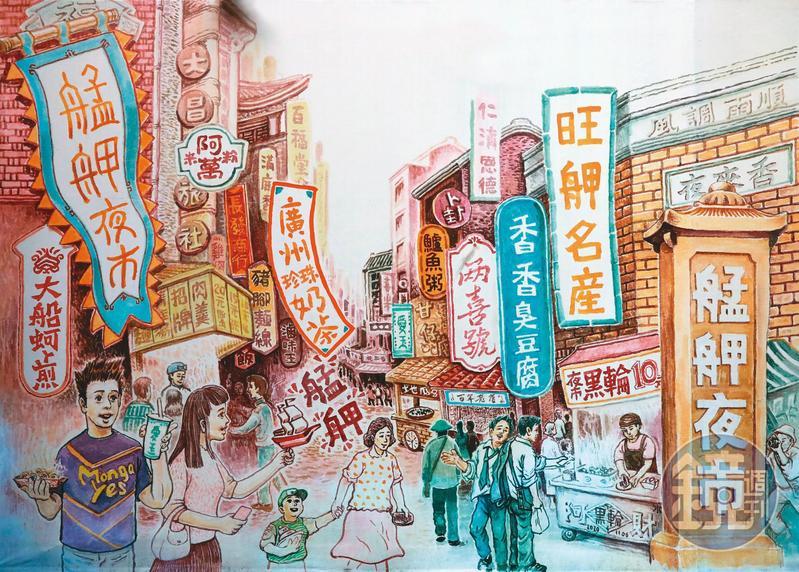 3級警戒以來,萬華龍山寺周邊商圈店家幾乎都遭受嚴重衝擊,包括地下街、茶藝館等,但也有店家讓出店面空間作為救難物資轉運使用。