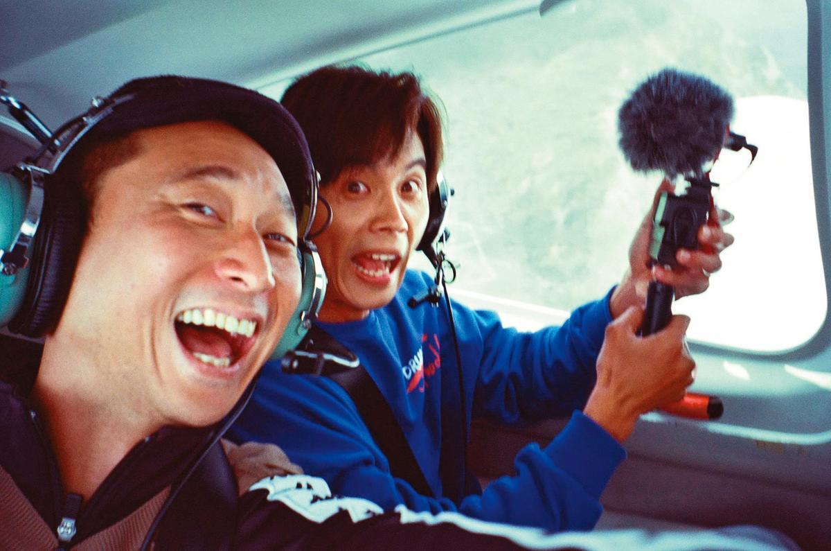 浩子(左)與阿翔(右)雖合作多年,在工作上是緊密無間的搭檔,但私下兩人沒私交,只稱對方為同事。