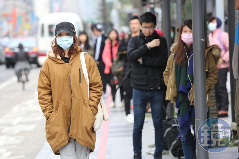 入秋東北風增強,北台灣週日將明顯轉涼。