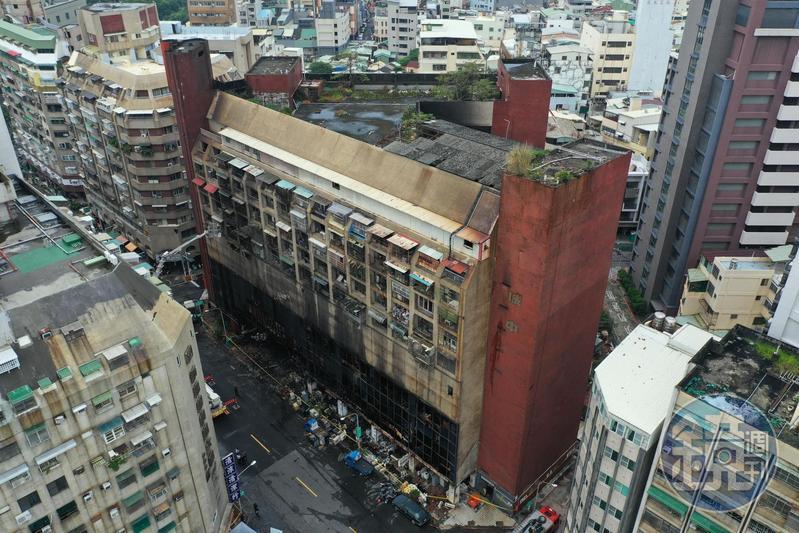 城中城大樓因內部裝潢易燃且通道逃生不易,造成火警發生時逃生不易釀慘重死傷。